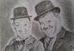 Evelyne Belsens - laurel and hardy