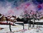 Pol Ledent - Hulsonniaux under the snow