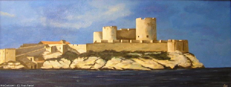 Artwork >> Yvan Ferrari >> Chateau d'if