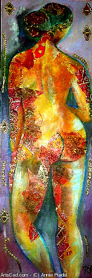 Artwork >> Annie Predal >> Naked fairy-like sold