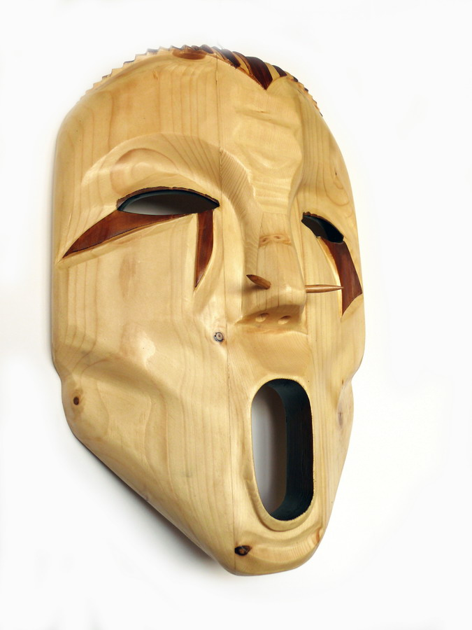 Artwork >> Vladislav Noxoff >> Wooden mask-War Gry