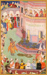 Classical Indian Art Gallery - HARIVAMSA  (Mughal Miniature)
