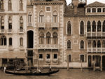 Donna Corless - Gondola Crossing Grand Canal