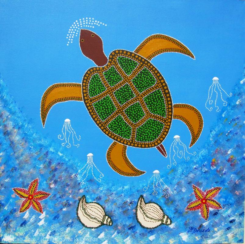 Artwork >> Malgorzata Drozdz >> The Ocean Turtle