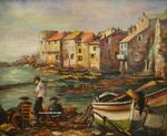 Francoise Galland - Erbalunga - little harbour Corsica