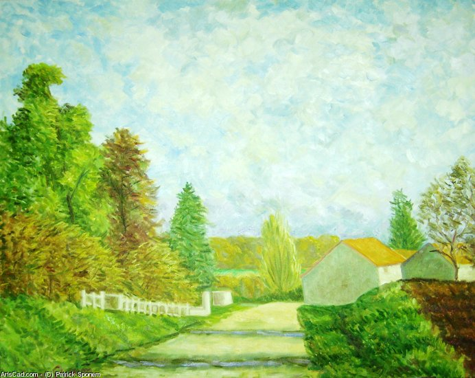 Artwork >> Patrick Sponem >> Entrance to Chassey-les-Scey