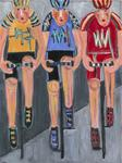 Linda Sharpe - The Cyclists