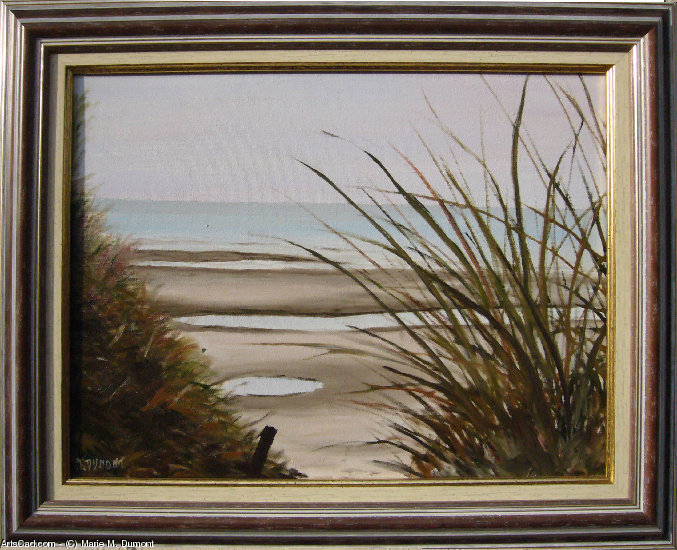 Artwork >> Marie-Mathilde Dumont >> The marram from  there  Sea in  of the  north