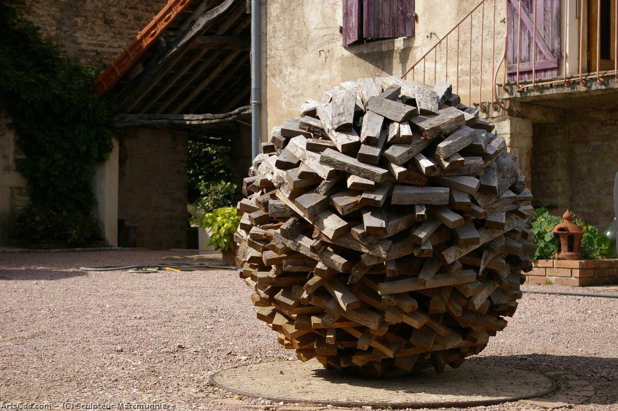 Artwork >> Sculpteur Marcmugnier >> SPHEROID