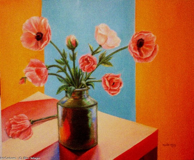 Artwork >> Elsa Gallegos >> poppies
