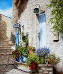 Marie-Claire Houmeau - Alley FUVEAU in provence