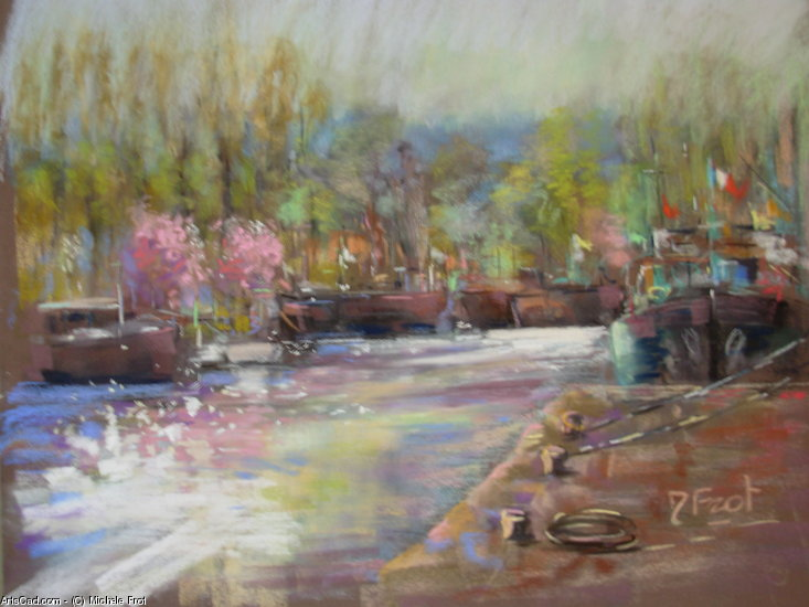 Artwork >> Michele Frot >> spring in st MAMMES