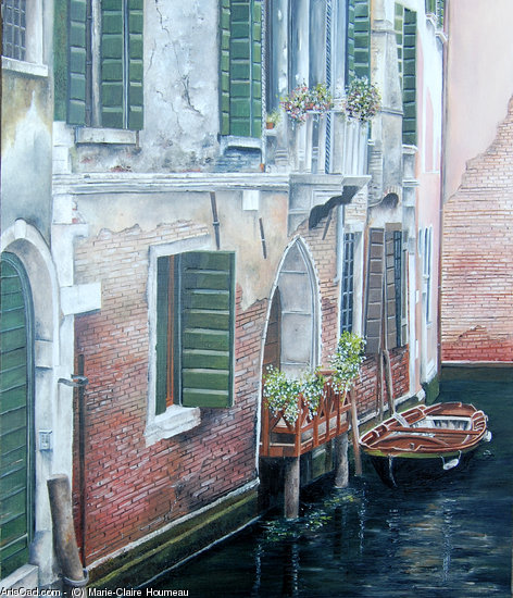 Artwork >> Marie-Claire Houmeau >> a small corner  from  Venice