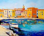 Alain Demarte - SAINT TROPEZ HANDLE FISHERMEN