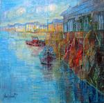 Aimé Venel - The Port of Trouville