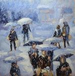 Pierre Vanmansart - - Snow on lille -