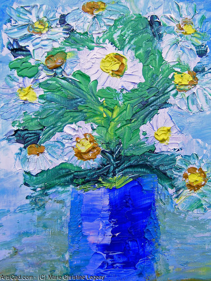 Artwork >> Marie Christine Legeay >> DAISIES