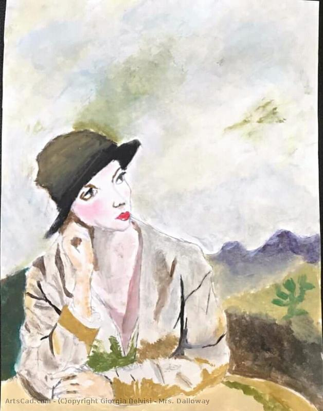 Artwork >> Giorgia Belvisi >> Mrs. . Dalloway