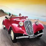 Sylvestre Aznar - Traction Cabriolet 11B in 1938