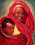 Carmen Cordova - Mother and Child