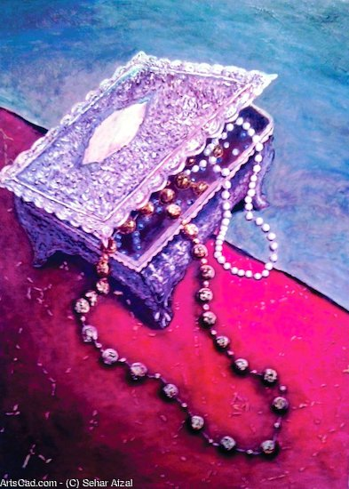 Artwork >> Sehar Afzal >> the jewelry box