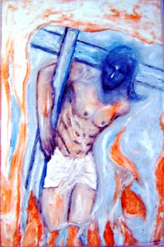 Artwork >> Narayanan Ramachandran >> The  cross