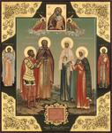 Alexander Bukharin - The Icon with Family Patron Saints