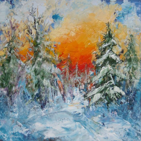 Artwork >> Mima Kostova >> Winter