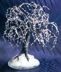 Sal Villano Wire Tree Sculpture - Black Ice - Wire Tree Sculpture