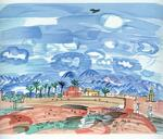 James Stow - Raoul Dufy -The Village- Limited Edition Lithograph