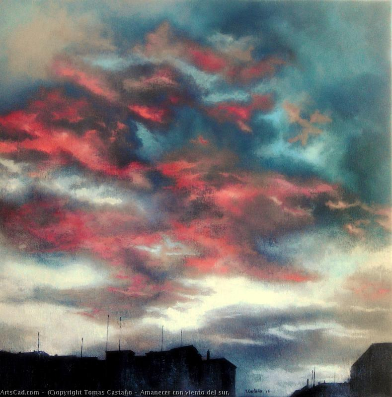 Artwork >> Tomas Castaño >> rising sun on with  wind  of  Southern