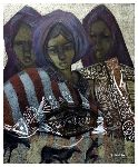 Noureddine Zekara - wives tuareg