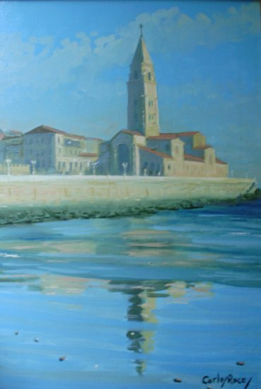 Artwork >> Carlos Roces >> Playa de Gijón