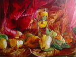 Stephane Texereau Art - automn from Quinces