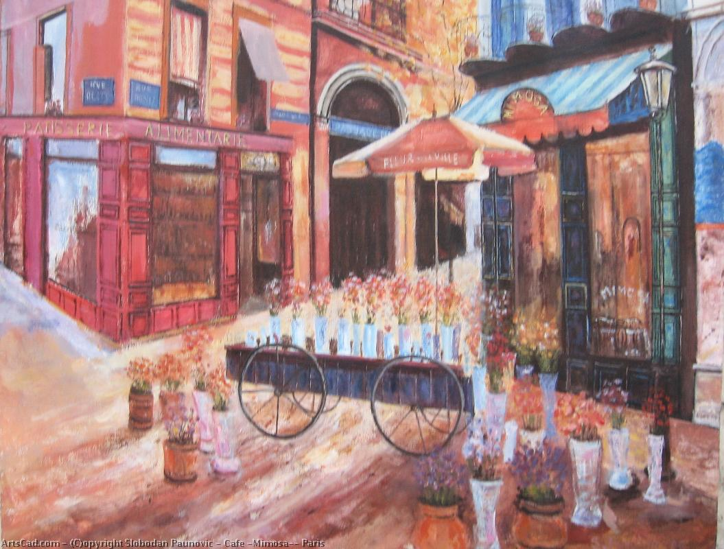 Artwork >> Slobodan Paunovic >> Cafe