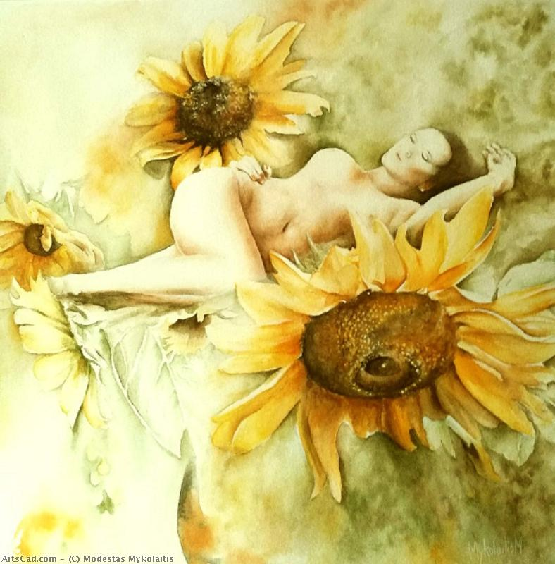 Artwork >> Modestas Mykolaitis >> Sunflower