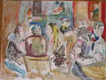Alexandra Dume - At the Café