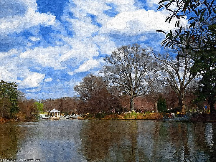 Artwork >> Michael Groff >> Piedmont Park Atlanta