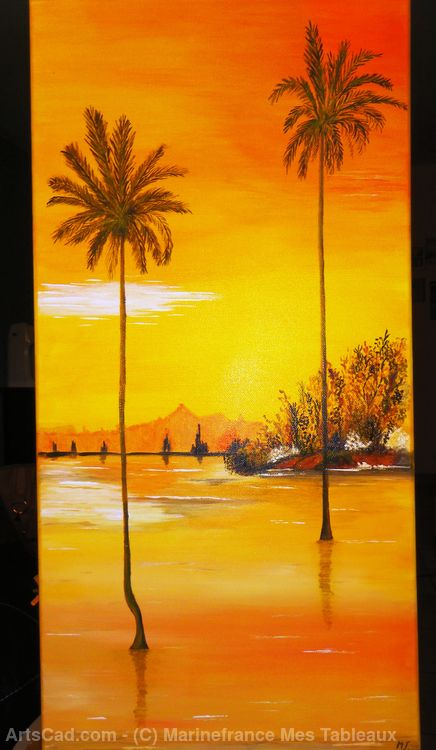 Artwork >> Marinefrance Mes Tableaux >> 'TROPICAL'