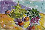 Heritier-Marrida - Still Life at  there  tea pot