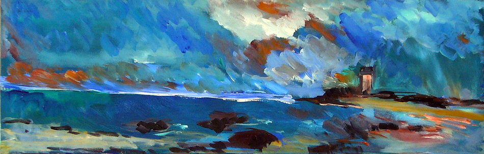 Artwork >> Irane Perko >> Brittany coast 3