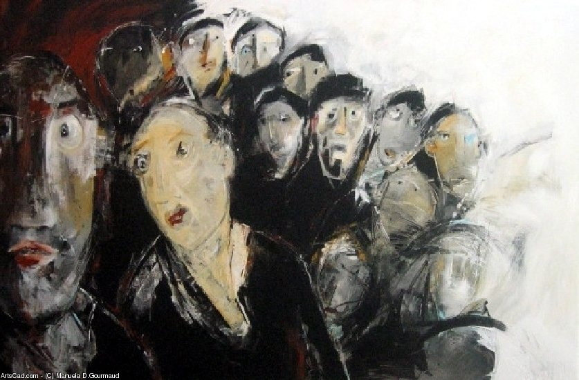 Artwork >> Manuela D.Gourmaud >> faces 2