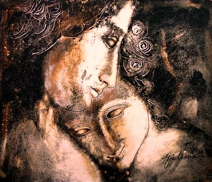 Artwork >> Nelu Gradeanu >> ANCIENT LOVE