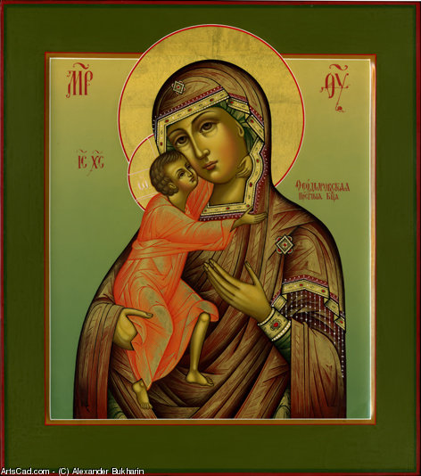 Artwork >> Alexander Bukharin >> Feodorov icon of the Mother of God