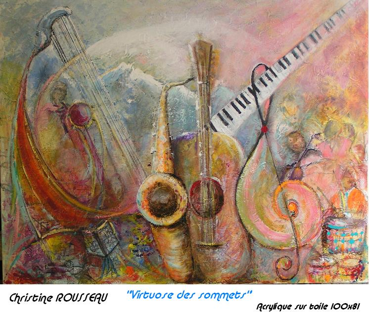 Artwork >> Christine Deschamps >> Virtuosos highs