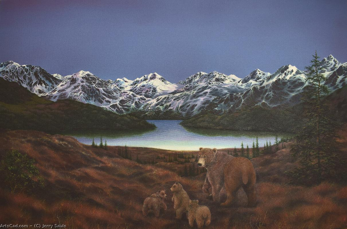 Artwork >> Jerry Sauls >> Bears of Denali