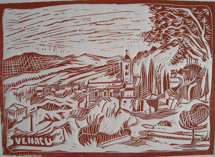 Artwork >> Heritier-Marrida >> VILLAGES OF CORSICAN / VENACU