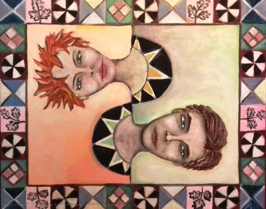 Artwork >> André Rippert >> Twosome at  there  mosaic
