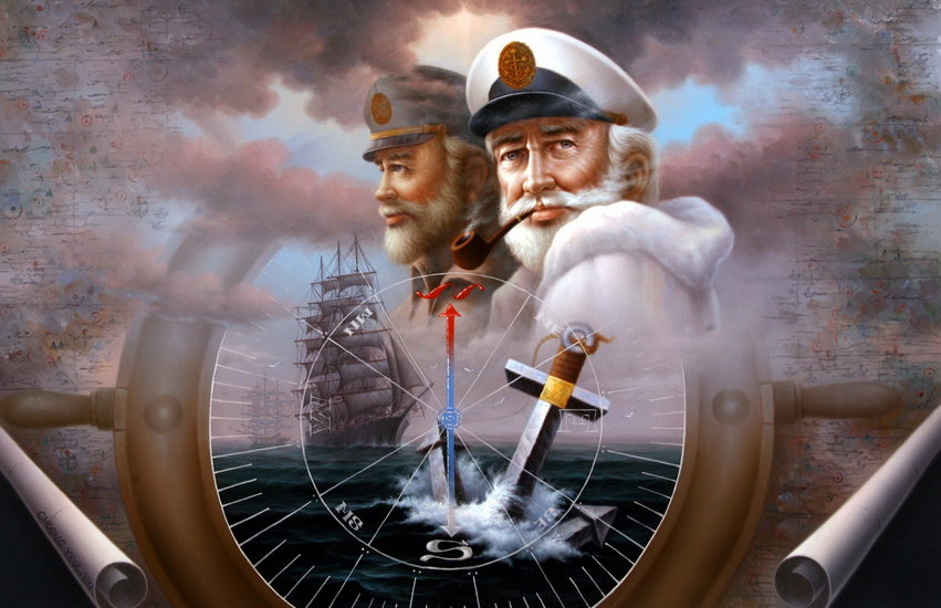 Artwork >> Yoo Choong Yeul Art >> NEWS & TWO Map Captain 4 or TWO Sea Captain