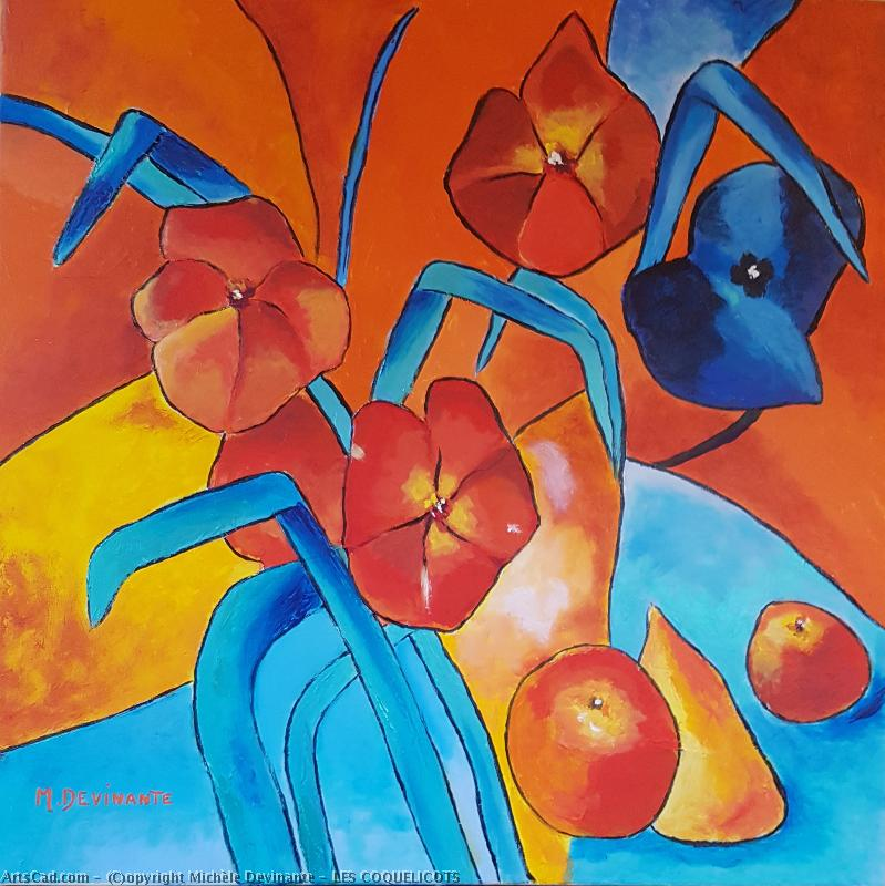 Artwork >> Michèle Devinante >> poppies